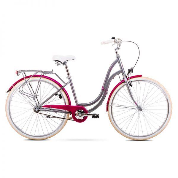 BIC19 ROMET ANGEL 28 1 silver-pink