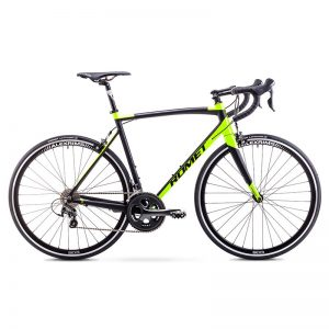 BIC19 ROMET HURAGAN 4 black-neon green 56